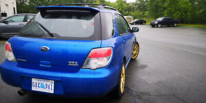 2006 Subaru WRX waggon 5-speed manual