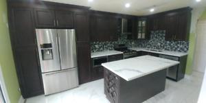 Custom kitchen Cabinets,Countertops,Refacing-647-835-2247