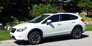 2014 Subaru Crosstrek XV LIMITED Blanc Nacré - Manuel
