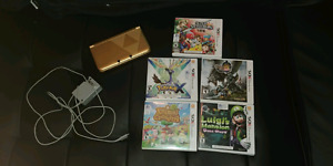 Used Zelda 3ds XL + 5 games