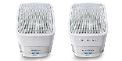 New Pioneer (S-MM201-W) USB-Powered Computer Speaker White