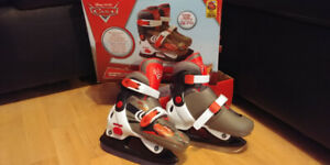 PATINS AJUSTABLE FLASH MCQUEEN