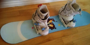 Rossignol / Burton Snow Board with Boots & Bindings London Ontario image 2