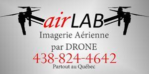 airLAB , vidéo aérienne par drone boucherville varennes