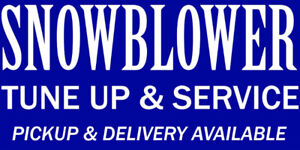 DEPENDABLE SNOWBLOWER SERVICE AND REPAIR - 905 369 0561