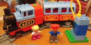Lego Duplo My First Train Set and Accessories, No. 10506, 10507
