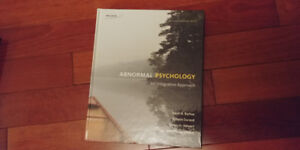 Dalhousie Abnormal Psychology: An integrative approach 4th ed