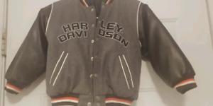 Harley Davidson Child'sc reversible fall/ spring jacket