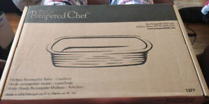Pampered Chef Med Rectangular Baker
