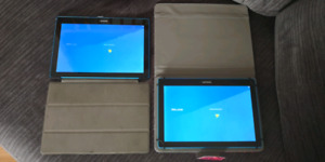 (2) Lenovo Tab 10, 10-Inch Android Tablet