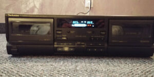 I am selling a Technics Double Cassette Deck