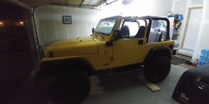 2000 Jeep TJ for sale!!!