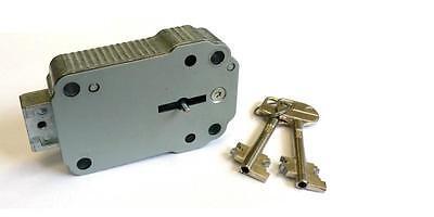 Tresorschloss Schlüsselschloss Optima mit 2 Schlüsseln 65 mm, Carl Wittkopp CAWI