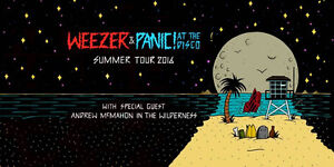 WEEZER AND PANIC! AT THE DISCO (BELOW FACE VALUE)