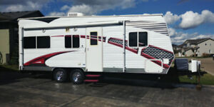 2010 Sandstorm Toy Hauler 203 SLC Travel Trailer By Forest River