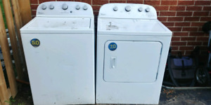 Washer any dryer