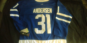 Toronto Maple Leafs Andersen jersey brand new