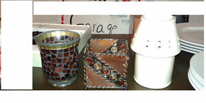 LOTS OF DECORATIVE CANDLES FOR SALE