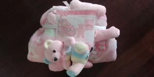 3 Piece Gift Set - Car Seat Sleeping Bag, Blanket, Toy