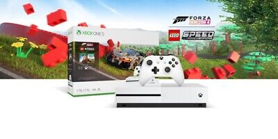 MICROSOFT Xbox One S with Forza Horizon 4 & LEGO Speed Champions. 1TB. USED ONCE