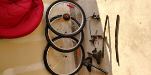 Bicycle 26 and 24 wheels
