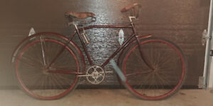 antique 1926 wood rimmed CCM Cleveland bicycle .... rare