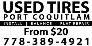 Used tire Cheap used tires from$20