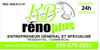 Entrepreneur General avec equipe! General Contractor with team!!