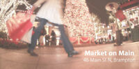 """VENDORS WANTED FOR """"THE MARKET ON MAIN"""""""