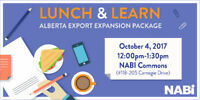 Lunch & Learn: Alberta Export Expansion Package