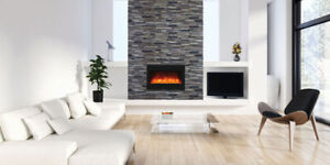 ELECTRIC FIREPLACE INSERTS - INSTALLATION and SALES