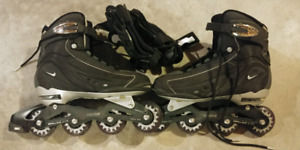 Nike n-dorfin 3 inline skates size 11 (US)includes wrist guards