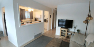 Spacious bright partial furnished 2 bed suite