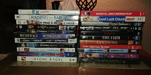lot of DVD Movies + TV Shows