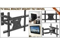 TV WALL BRACKET MOUNT TILT SWIVEL for 32 40 42 46 48 50 55+ PLASMA LCD LED 3D (3255-HT)