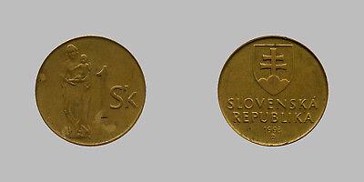 1 Slowakische Krone 1993