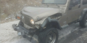 Parting out 2003 TJ Sport