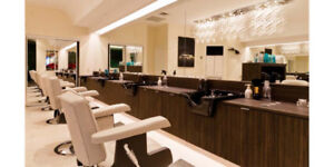 7 HAIR SALON STYLING STATIONS ** AMAZING DEAL !!