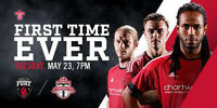 Ottawa Fury Tickets for game vs Toronto FC on May 23@7:00pm