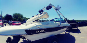 Doral Sunquest 200 Blanc 2007 6 cylindres, Volvo Penta GXi