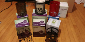 Etched core scentsy burner and wraps