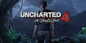 Barely used copy of Uncharted 4 for PS4