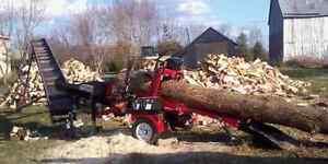 potable firewood processor service