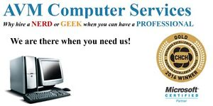 In Home/On Site Computer Repair and IT services