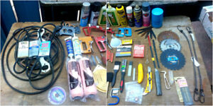 Bostitch staple gun, New Paint rollers Auto Belts, PLUS LOT MORE
