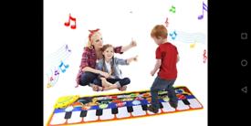 Piano music dance mat