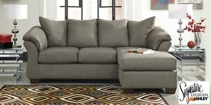 Brand NEW Darcy Cobblestone Sectional  ! Call 506-634-1010!