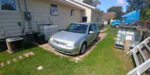 Vw golf 2006  for parts only.