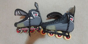 Mission CSX Hockey Roller blades EXCELLENT CONDITION size12