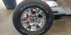 275/65R18  Tires and Rims